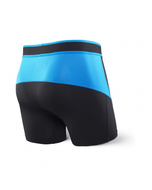 BLACK ELECTRIC BLUE KINETIC BOXER BRIEFを見る