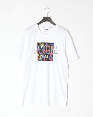 PUMA BLACK/PUMA WHITE AMPLIFIED 9インチショーツ/PUMA SPORT グラフィックTシャツを見る