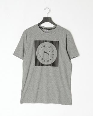PUMA BLACK/MEDIUM GRAY H STYLE + ハーフ スウェットパンツ/OSG Tシャツを見る