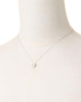 ホワイトゴールド K18WG ダイヤ ネックレスを見る