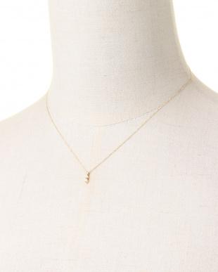 イエローゴールド K18 ダイヤ ネックレスを見る