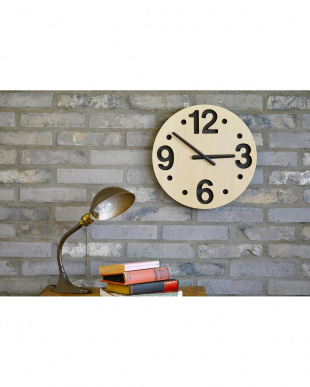 NATURAL COLETTE WALL CLOCK Φ36cmを見る