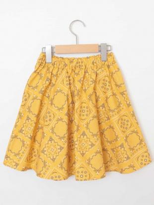 イエロー [160]カラー&プリントギャザースカート[WEB限定サイズ] a.v.v bout de chouを見る