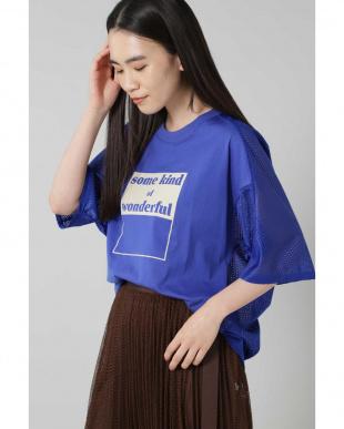 ブルー バックメッシュロゴTシャツ R/B(バイイング)を見る