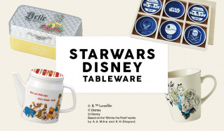 STARWARS/DISNEY TABLEWAREのセールをチェック