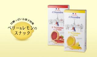 甘酸っぱいお菓子特集 -ベリー&レモンのスナック-のセールをチェック