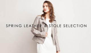 SPRING LEATHER & STOLE SELECTIONのセールをチェック