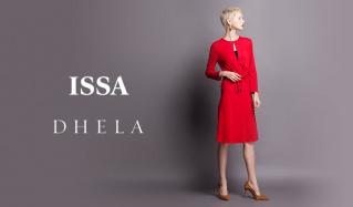 ISSA LONDON/DHELAのセールをチェック
