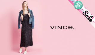 VINCE._OVER70%OFF(ヴィンス)のセールをチェック