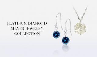 PALATINUM DIAMOND SILVER JEWERY COLLECTIONのセールをチェック