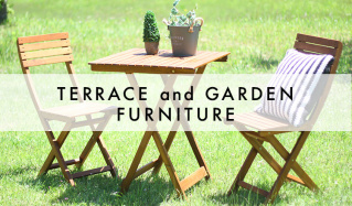 TERRACE and GARDEN FURNITUREのセールをチェック