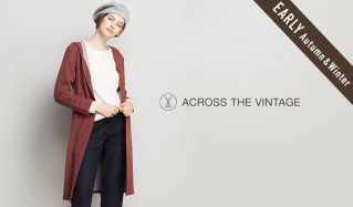ACROSS THE VINTAGE WOMEN_EARLY AUTUMN&WINTER(アクロス ザ ヴィンテージ)のセールをチェック
