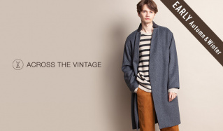 ACROSS THE VINTAGE MEN_EARLY AUTUMN&WINTER(アクロス ザ ヴィンテージ)のセールをチェック