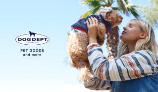 DOG DEPT -DOG GOODS and more-(ドッグデプト)のセールをチェック