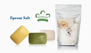 NUBIAN HERITAGE/EPSOM SALTのセールをチェック