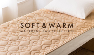 SOFT&WARM MATTRESS PAD SELECTIONのセールをチェック