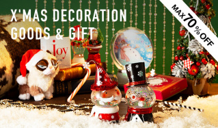 X'MAS DECORATION GOODS & GIFTのセールをチェック
