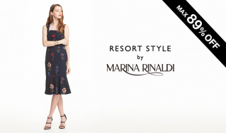 RESORT STYLE by MARINA RINALDI(マリナ リナルディ)のセールをチェック