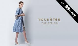 VOUS ETES -PRE SPRING-(ヴゼット)のセールをチェック