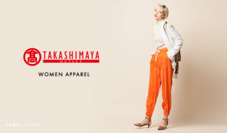 TAKASHIMAYA WOMEN APPARELのセールをチェック