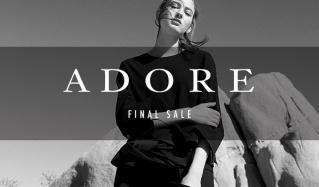 ADORE -FINAL SALE-(アドーア)のセールをチェック