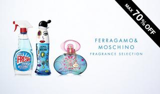FERRAGAMO & MOSCHINO FRAGRANCE SELECTIONのセールをチェック
