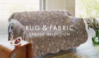 RUG & FABRIC SPRING SELECTIONのセールをチェック