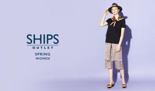 SHIPS OUTLET WOMEN -SPRING-のセールをチェック
