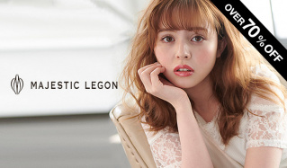 MAJESTIC LEGON and more -OVER70%OFF-のセールをチェック