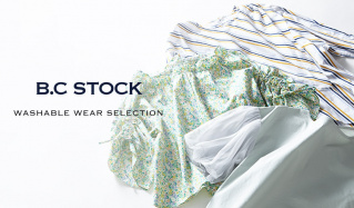 WASHABLE WEAR SELECTION by B.C STOCK(ベーセーストック)のセールをチェック