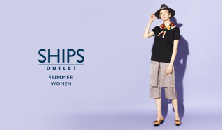 SHIPS OUTLET WOMEN -SUMMER-のセールをチェック