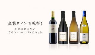金賞ワインで乾杯! -初夏に飲みたいワイン・シャンパンのセット-(セレクションミリオンショウジ)のセールをチェック