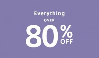 OVER 80%OFF APPAREL & ACCESSORYのセールをチェック