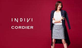 INDIVI/CORDIER OVER 80%OFF(インディヴィ)のセールをチェック
