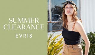 EVRIS -SUMMER CLEARANCE-のセールをチェック