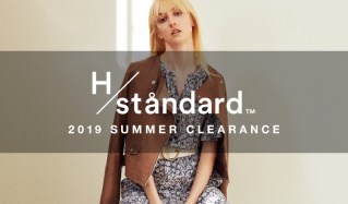 H/STANDARD 2019SS MORE SALE(アッシュ・スタンダード)のセールをチェック