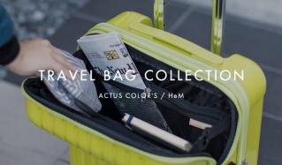 TRAVEL BAG COLLECTION -ACTUS COLOR'S & HeM-のセールをチェック