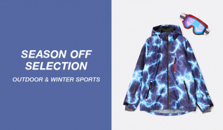 SEASON OFF SELECTION -OUTDOOR & WINTER SPORTS-のセールをチェック