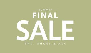 SUMMER FINAL SALE -BAG & SHOES & ACC-のセールをチェック