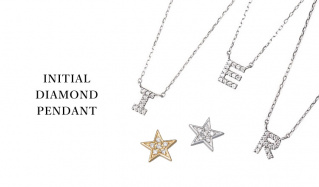INITIAL DIAMOND PENDANT のセールをチェック