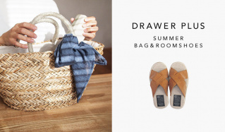 DRAWER PLUS SUMMER BAG&ROOMSHOESのセールをチェック