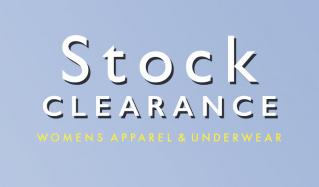 GLADD STOCK CLEARANCE WOMENS APPAREL&UNDERWEARのセールをチェック