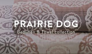 PRAIRIE DOG -Bedlinen & Towel collection-(プレーリードッグ)のセールをチェック