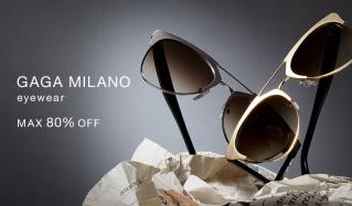 GAGA MILANO eyewear - MAX80%OFF -のセールをチェック