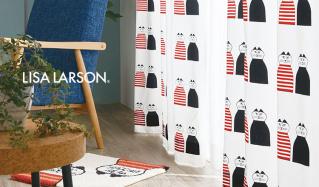 LISA LARSON -CURTAIN & FABRIC -のセールをチェック