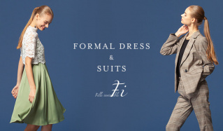 Formal Dress & Suits by Fille invincible(フィルアンバシブル)のセールをチェック