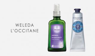 WELEDA/L'OCCITANEのセールをチェック