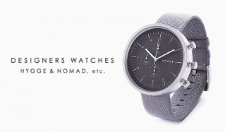 DESIGNERS WATCHES: HYGGE & NOMAD, etc.のセールをチェック