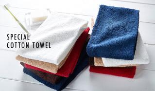 Special cotton towel(アンファンス)のセールをチェック