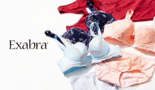 EXABRA  - 胸育ブラ 矯正ガードル -のセールをチェック